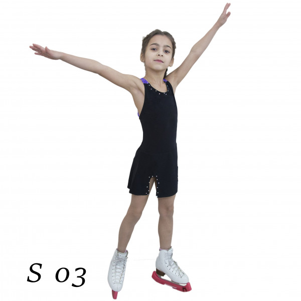 Сарафан для занятия фигурным катанием S 03